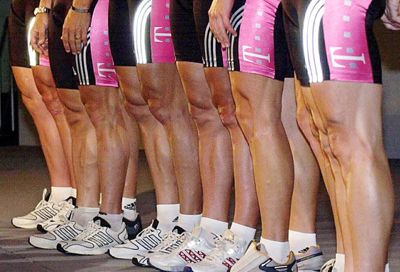 Why Wax are Cyclists Legs?