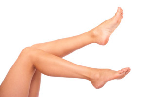 bride leg wax